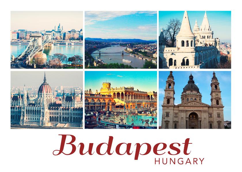 Ansichtkaarten - De groeten... Boedapest - DH