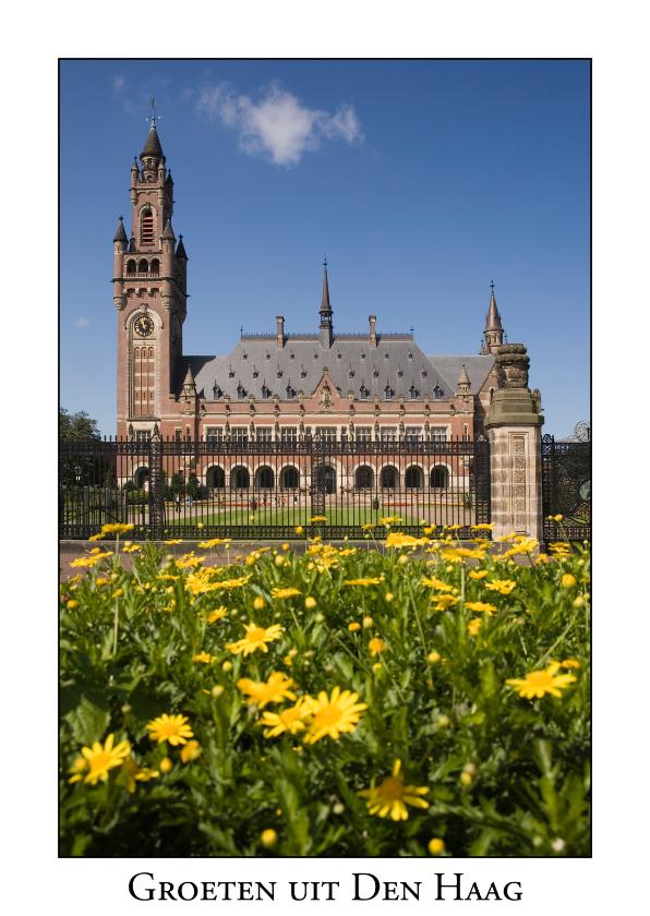 Ansichtkaarten - Groeten uit Den Haag XIX