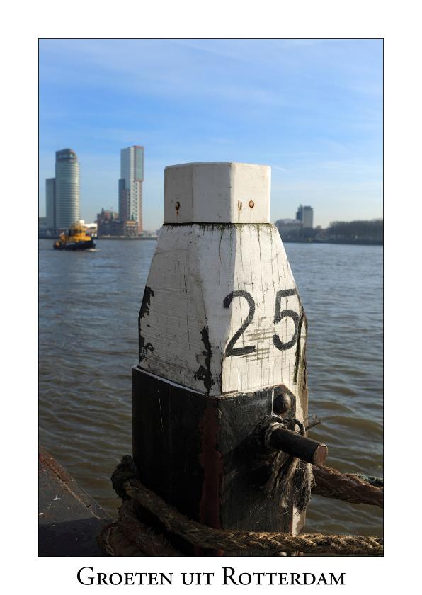 Ansichtkaarten - Groeten uit Rotterdam XXI
