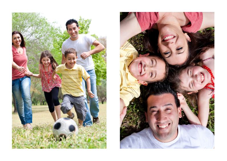 Ansichtkaarten - Leuke Fotokaart 2 foto's