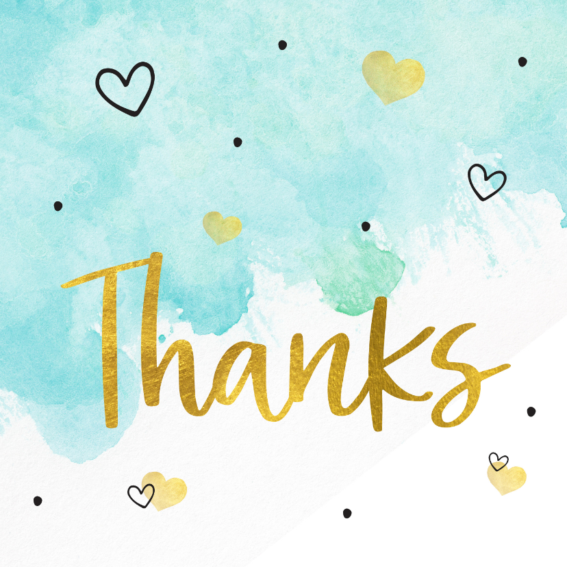 Bedankkaartjes - Bedankt - bedankkaart hulpverleners thanks