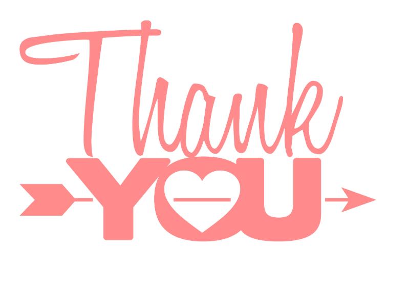 Bedankkaartjes - Thank you bedankkaartje