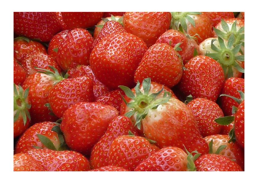 Beterschapskaarten - Beterschap Aardbeien vitamines