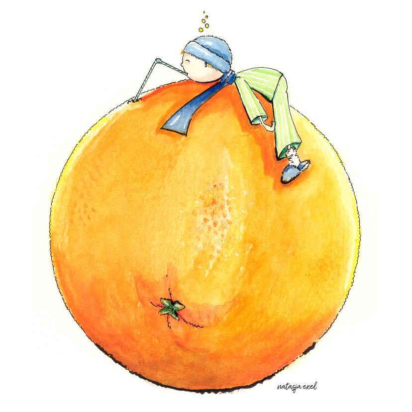 Beterschapskaarten - Beterschap Sinaasappel