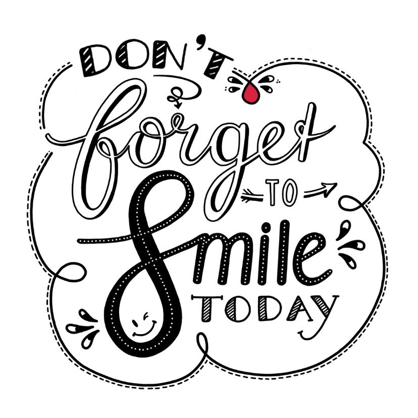 Beterschapskaarten - Beterschap - smile white EM