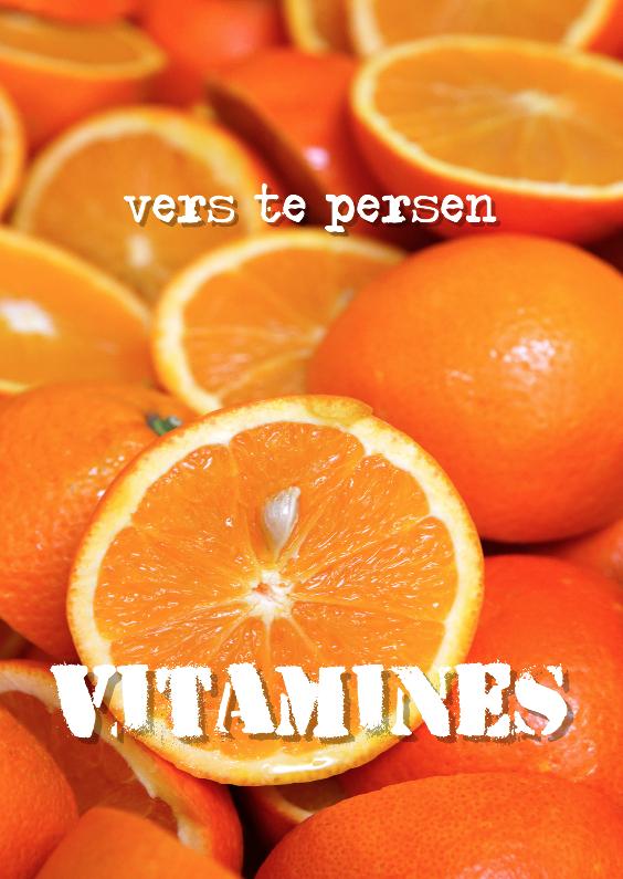 Beterschapskaarten - Beterschap Vitamines
