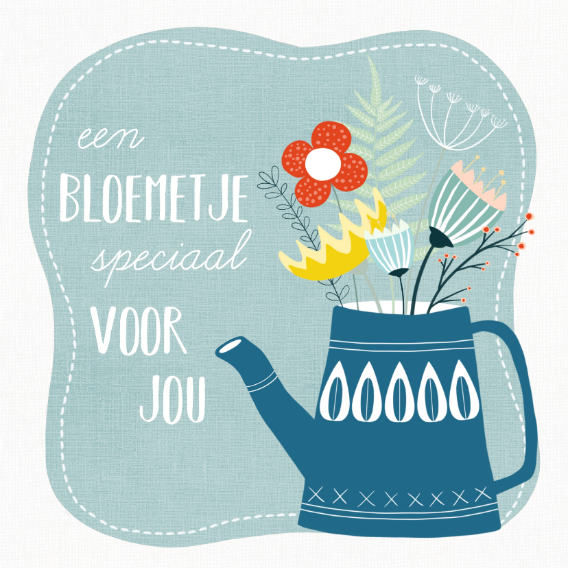 Beterschapskaarten - Beterschapskaart - Een bloemetje speciaal voor jou