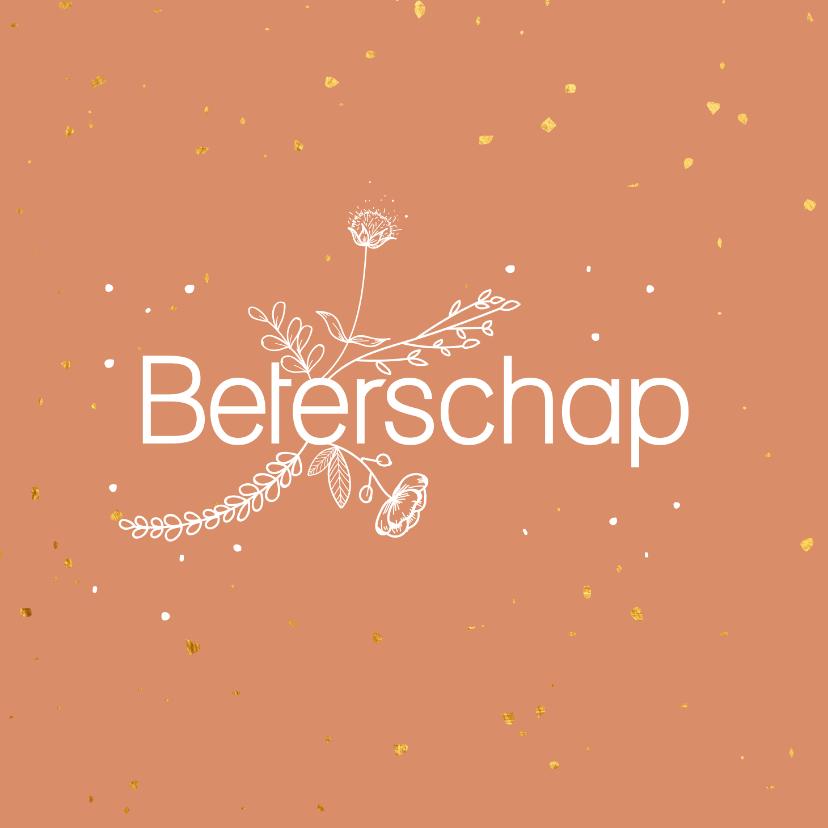 Beterschapskaarten - Beterschapskaart - flowers