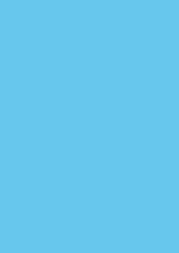 Blanco kaarten - Blauw staand dubbel