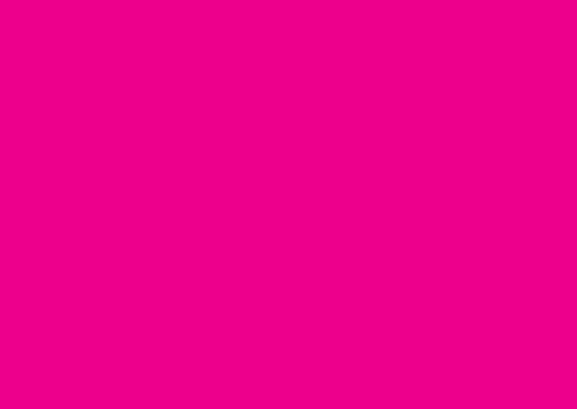 Blanco kaarten - Fel roze liggend dubbel