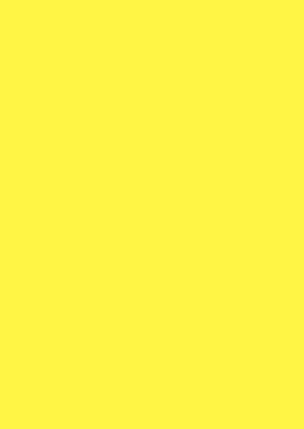 Blanco kaarten - Geel dubbel staand