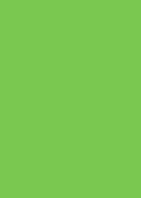 Blanco kaarten - Groen staand dubbel