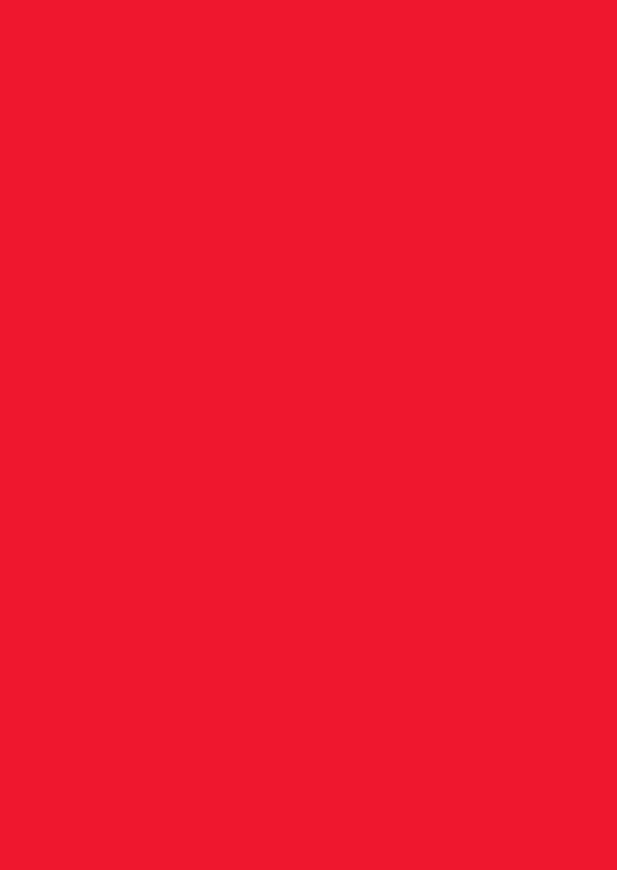 Blanco kaarten - Kies je kleur rode staande kaart