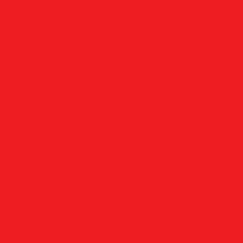 Blanco kaarten - kies je kleur rood vierkante kaart