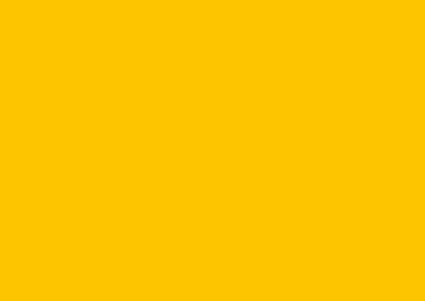 Blanco kaarten - Oker geel dubbel liggend