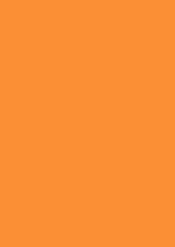 Blanco kaarten - Oranje staand dubbel