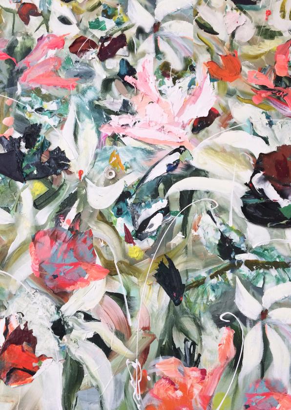 Bloemenkaarten - Bloemen print van kunst