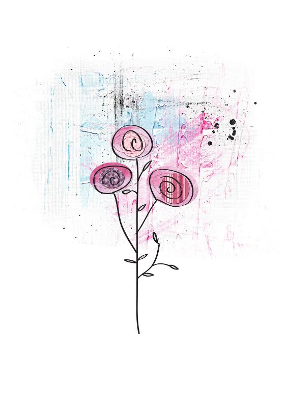 Bloemenkaarten - Bloemenkaart Bloemen Zomaar