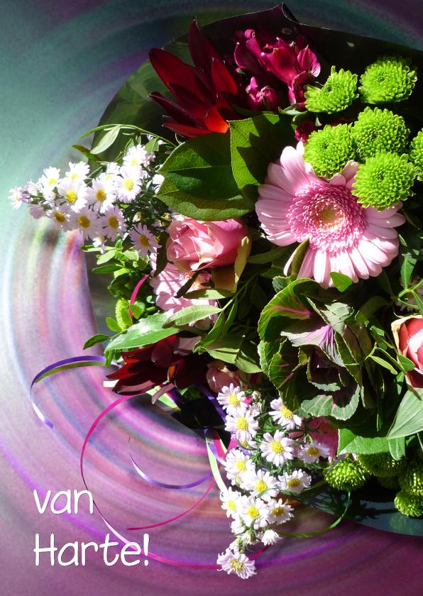 Bloemenkaarten - Bloemenkaart Speciaal boeketje