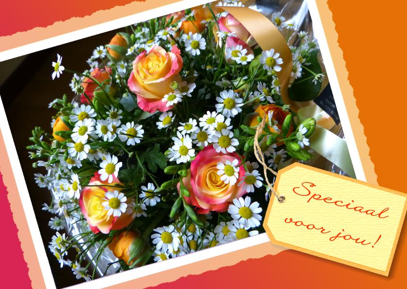 Bloemenkaarten - Bloemenkaart Speciaal label