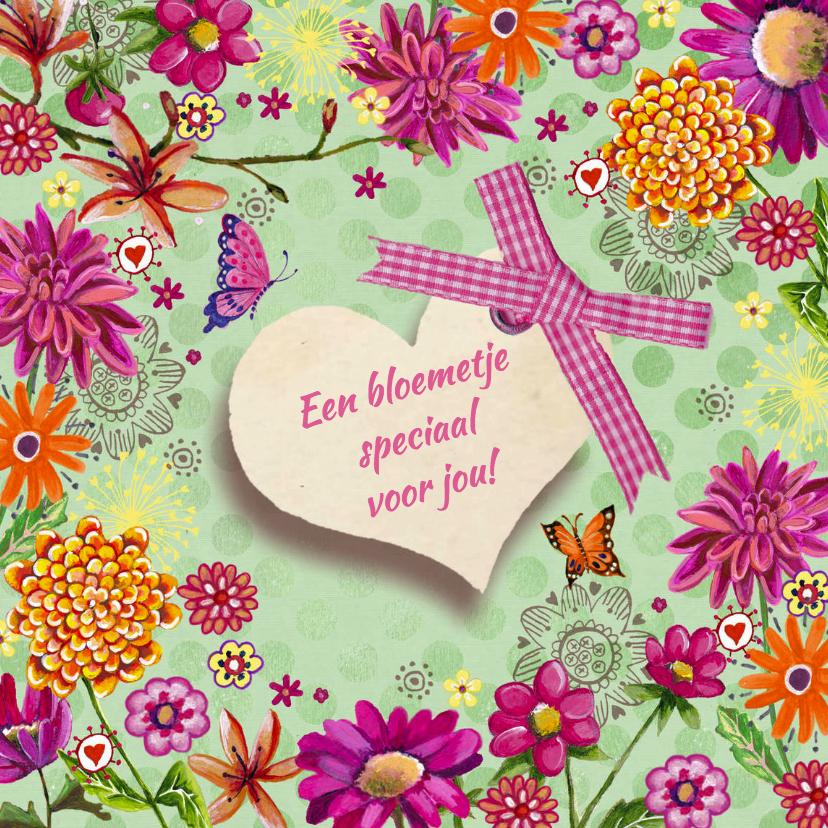 Bloemenkaarten - Herfst Bloemen voor jou