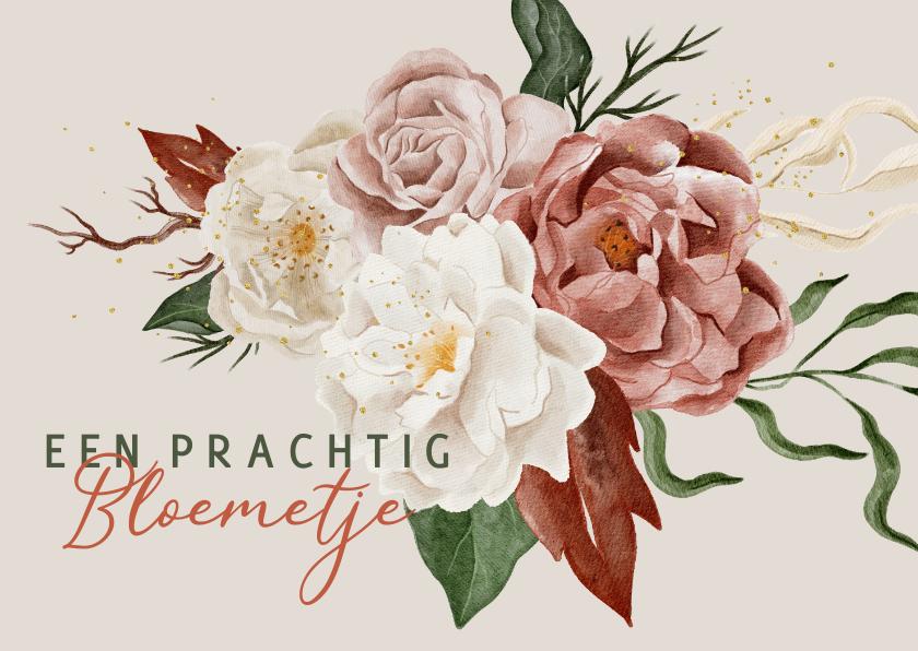 Bloemenkaarten - Italiaanse bloemenkaart