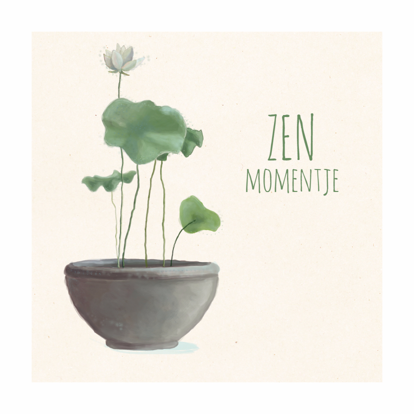 Coachingskaarten - Coachingskaart - Zen Moment - MW