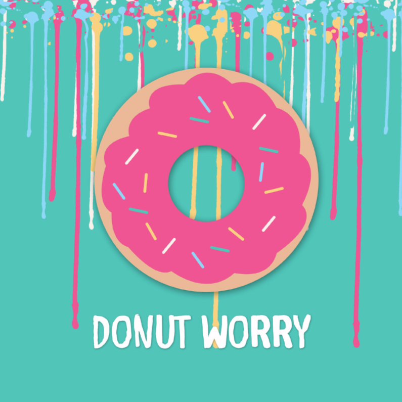 Coachingskaarten - Donut worry - DH