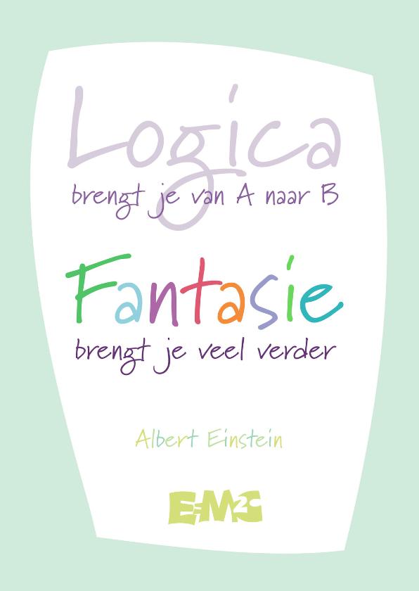 Coachingskaarten - Logica en Fantasie - staand