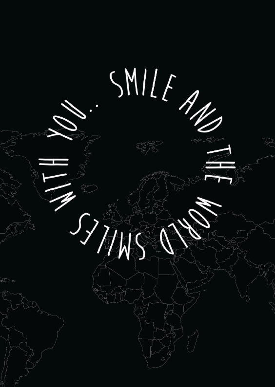 Coachingskaarten - Smile, and the world smiles....