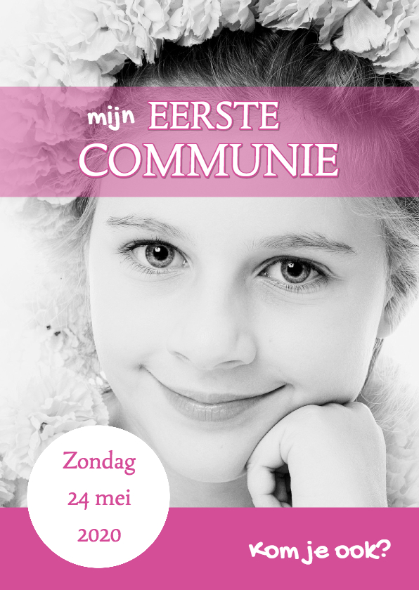 Communiekaarten - Communiekaart Cover Magazine 3