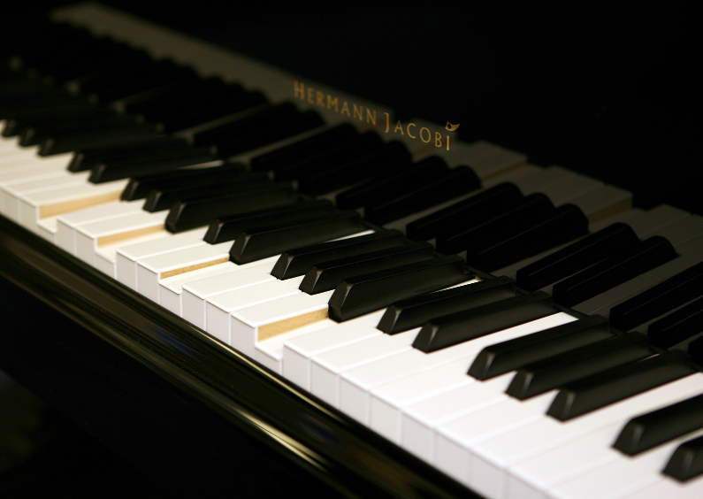 Condoleancekaarten - Ansichtkaart Piano 2
