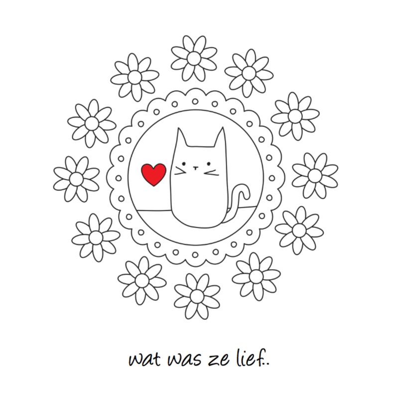 Condoleancekaarten - Condoleance Huisdier Poes