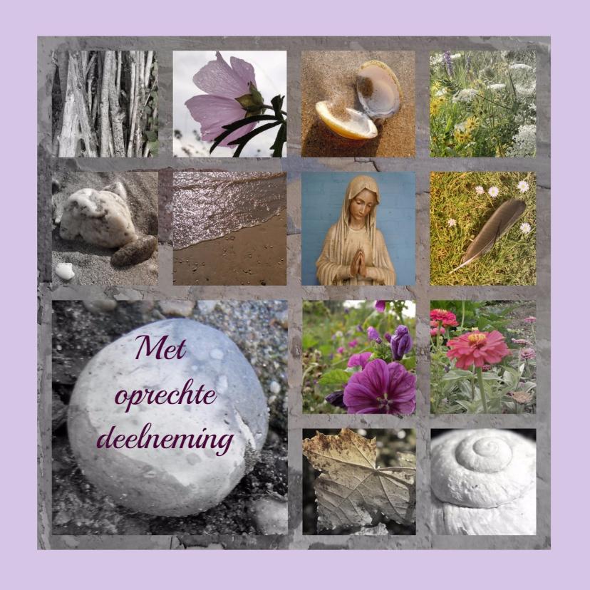 Condoleancekaarten - Condoleance liefde en licht IW