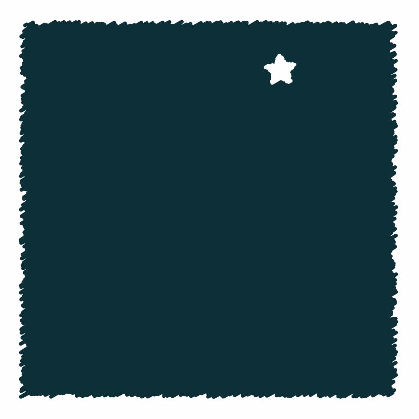 Condoleancekaarten - ster aan de hemel