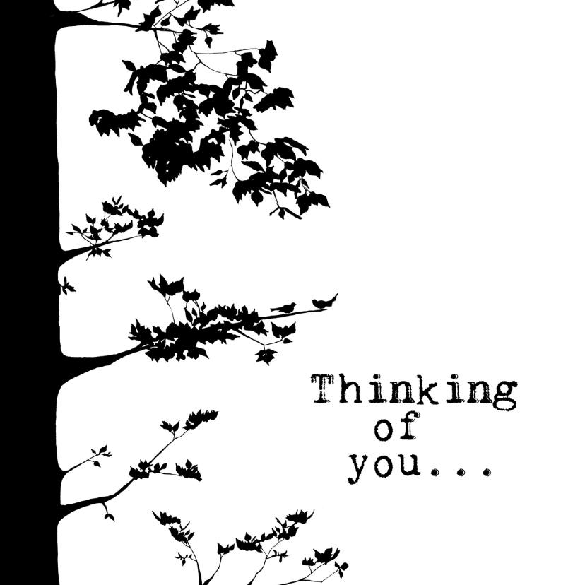 Condoleancekaarten - THINKING OF YOU