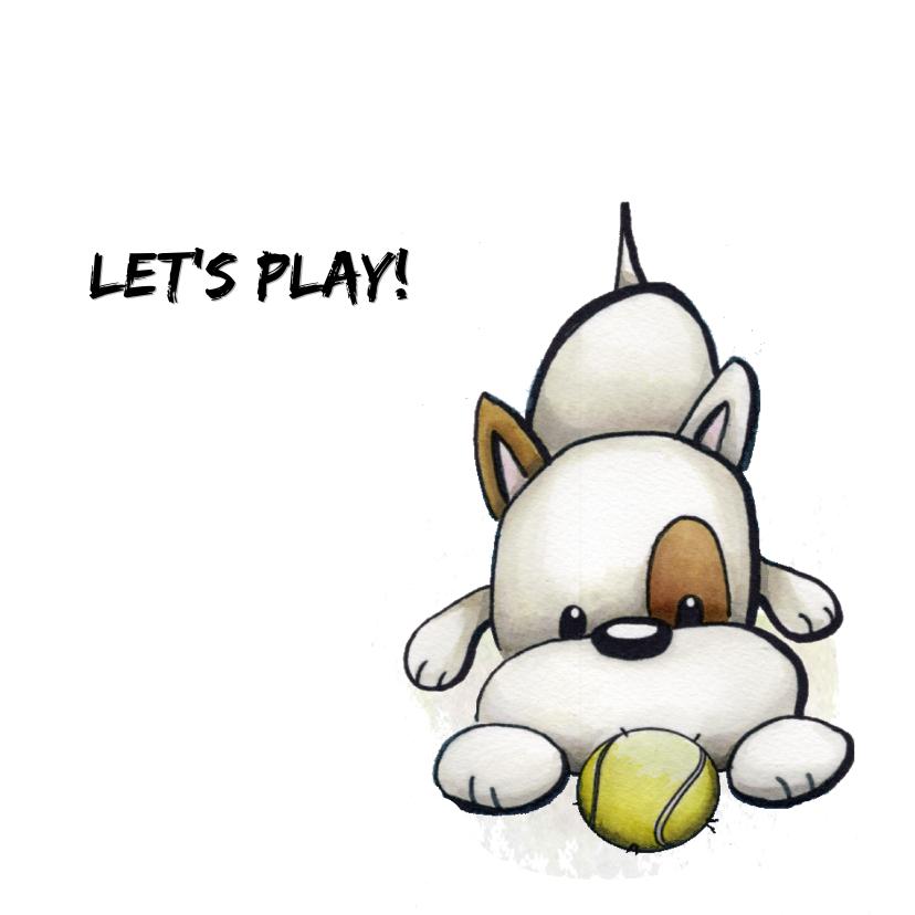 Dierenkaarten - Dierenkaart Odey, Let's play!