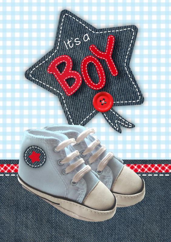 Felicitatiekaarten - Boy Schoentjes
