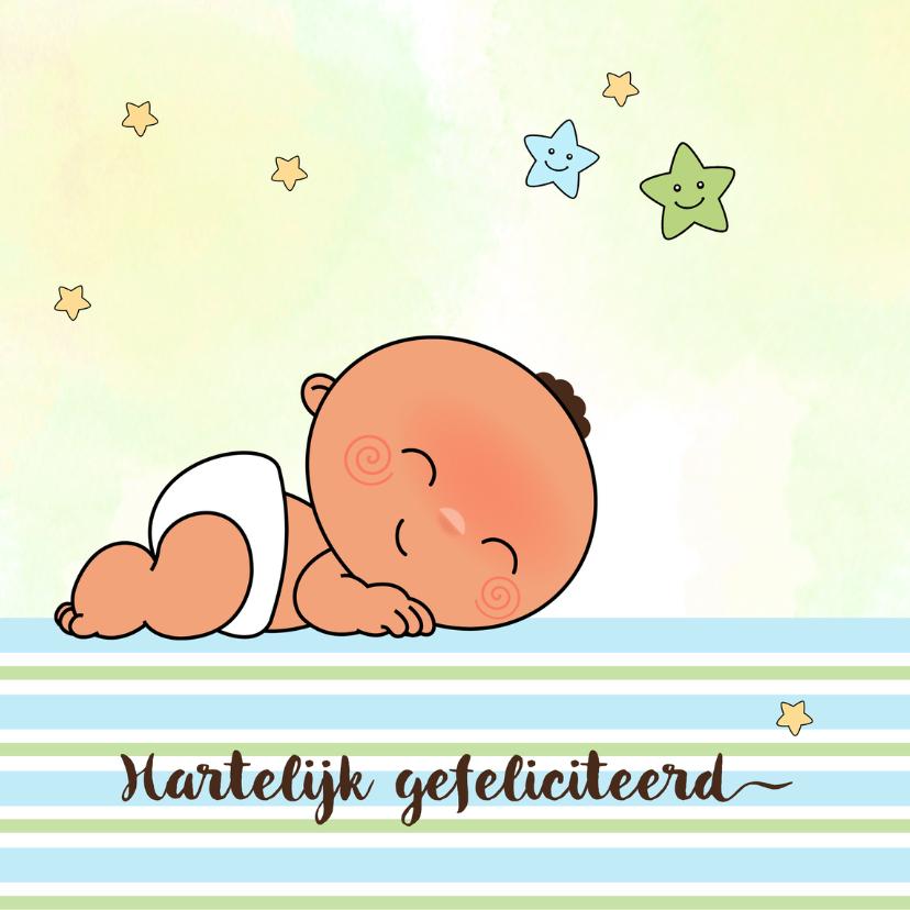 Felicitatiekaarten - Felicitatie adoptiekindje-jongen