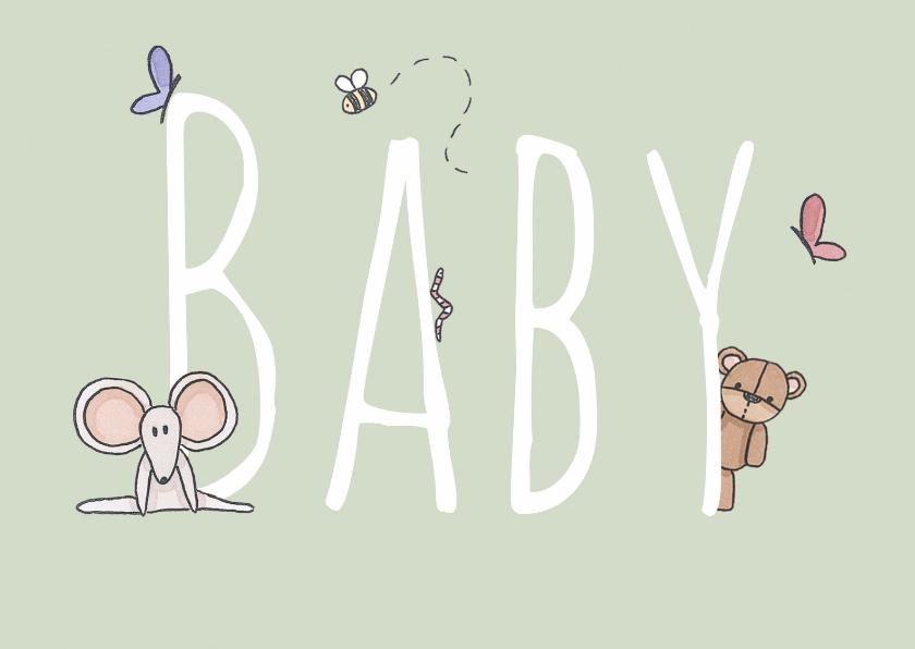 Felicitatiekaarten - Felicitatie Baby - LFZ
