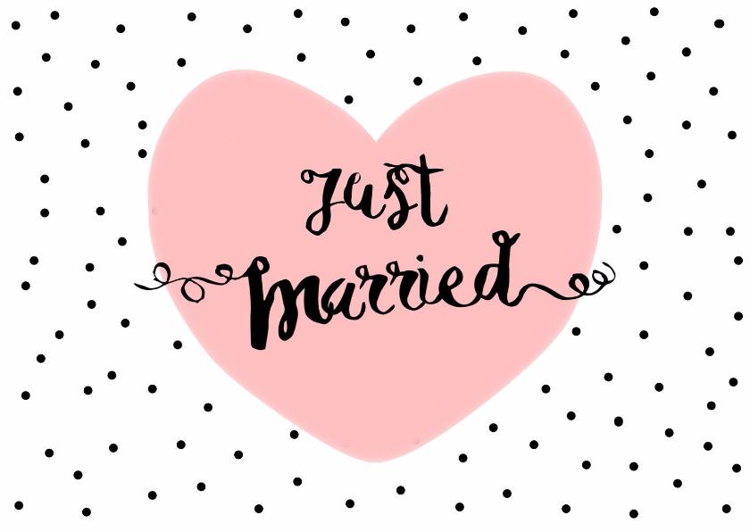 Felicitatiekaarten - Felicitatie Huwelijk 2 - WW