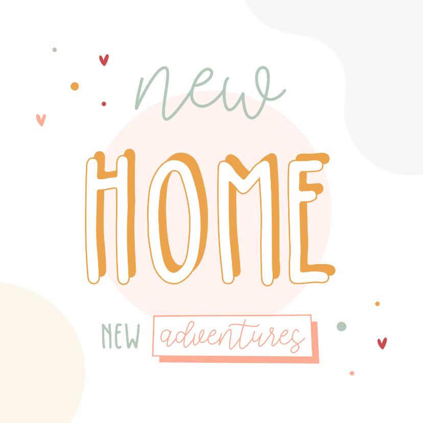 Felicitatiekaarten - Felicitatiekaart nieuwe woonplaats hip