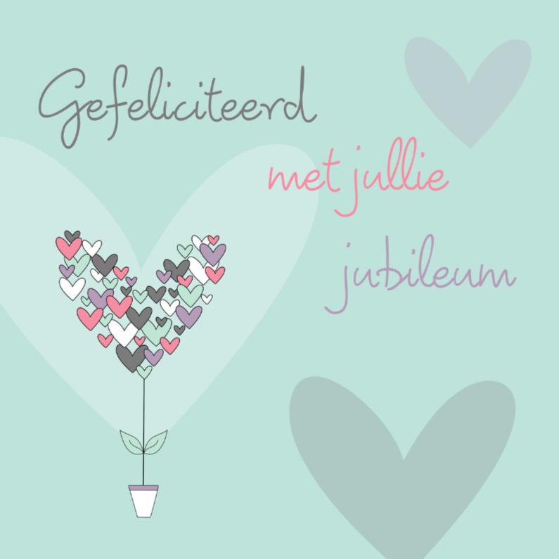 Felicitatiekaarten - Gefeliciteerd met jullie jubileum