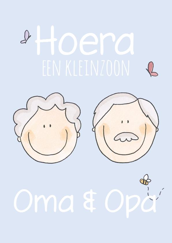Felicitatiekaarten - Gefeliciteerd Oma & Opa LFZ