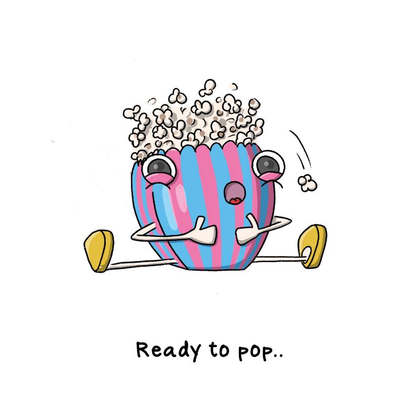 Felicitatiekaarten - Gefeliciteerd zwanger ready to pop kaart