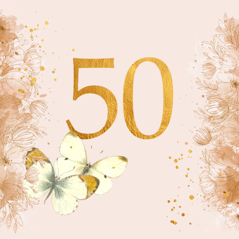 Felicitatiekaarten - Huwelijks jubileum - 50 jaar getrouwd