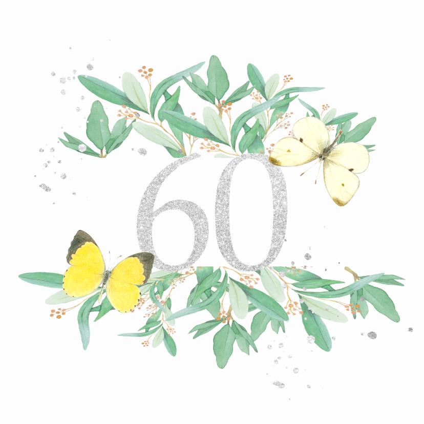 Felicitatiekaarten - Huwelijksjubileum - 60 jaar getrouwd