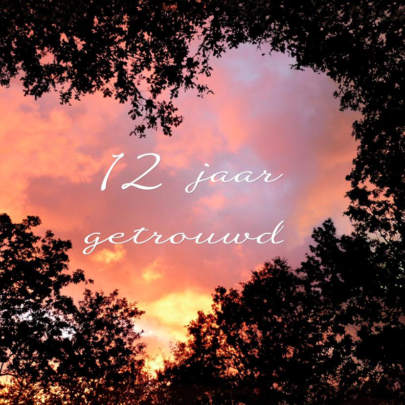 Felicitatiekaarten - Jubileum Hart