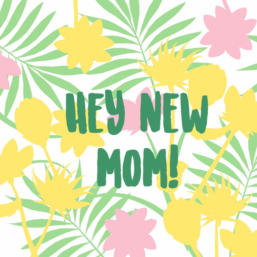 Felicitatiekaarten - New mom