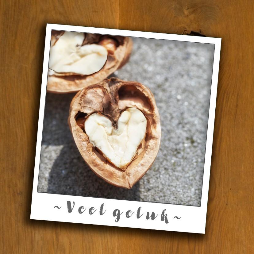 Felicitatiekaarten - Samenwonen, veel geluk met hart